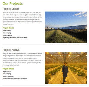 `Have a look at our (recent) projects!